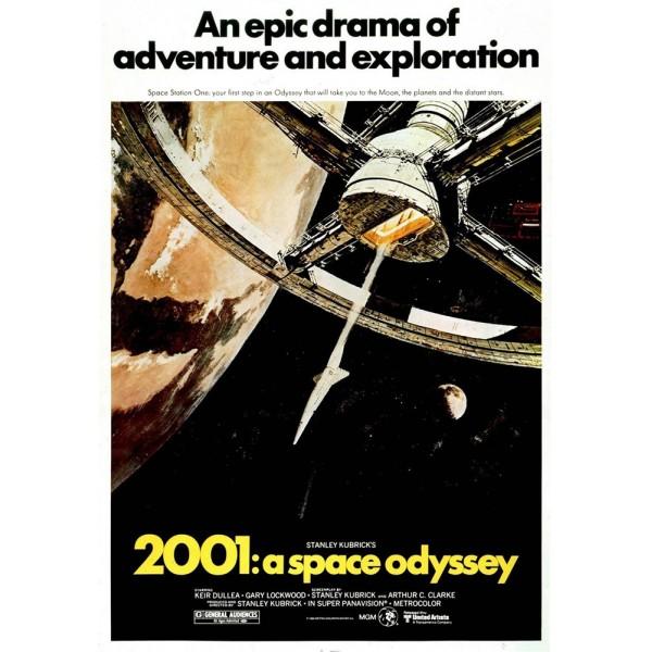 2001, Uma Odisseia no Espaço - 1968
