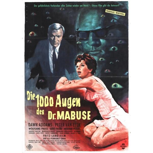 Os Mil Olhos do Dr. Mabuse - 1960