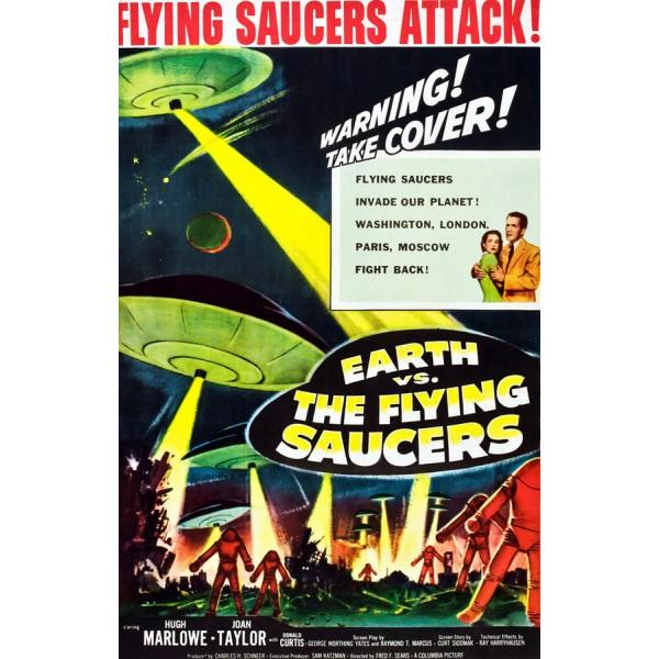 A Invasão Dos Discos Voadores - 1956