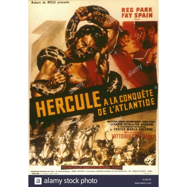 Hércules na Conquista de Atlântida - 1961