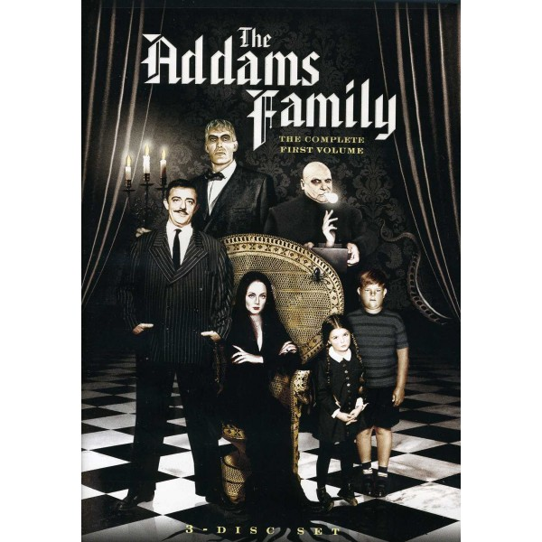 A Família Addams - 1ª Temporada  - 1964 - 03 Dis...