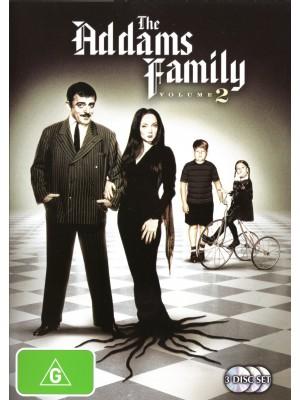 A Família Addams - 2ª Temporada - 1965 - 03 Discos