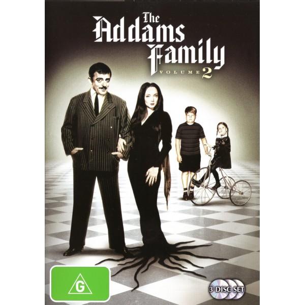 A Família Addams - 2ª Temporada - 1965 - 03 Disc...