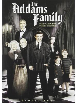 A Família Addams - 3ª Temporada - 1965 - 03 Discos
