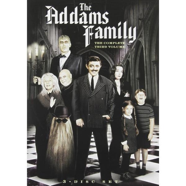 A Família Addams - 3ª Temporada - 1965 - 03 Disc...