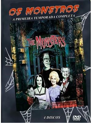 A Família Monstros / Os Monstros - 1964  - 1ª Temporada - 04 Discos
