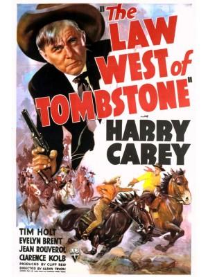 A Lei na Terra dos Bandoleiros | Como era a Lei em Tombstone - 1938