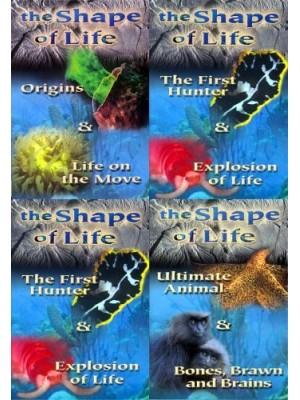 A Origem da Vida - A Evolução das Espécies - National Geographic - Vol. 01, 02, 03 e 04 - 2006