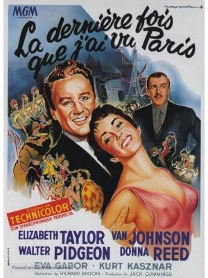 A Última Vez Que Vi Paris - 1954