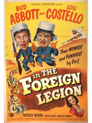 Abbott e Costello na Legião Estrangeira - 1950