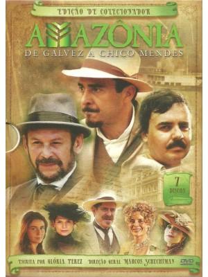 Amazônia - de Galvez A Chico Mendes  - 2007 - 07 Discos