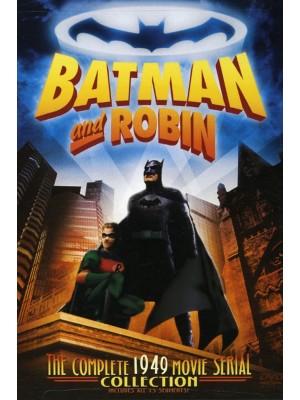 Batman e Robin - A Volta do Homem Morcego - 1949 - Duplo