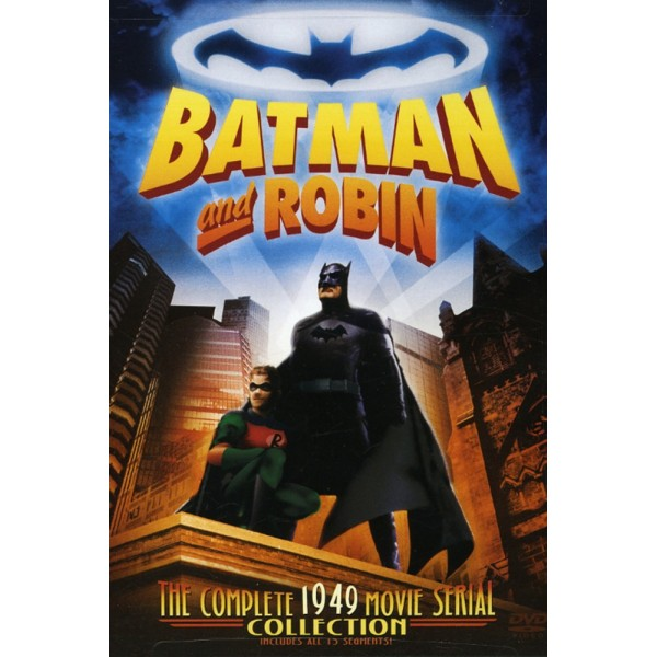 Batman e Robin - A Volta do Homem Morcego - 1949 -...