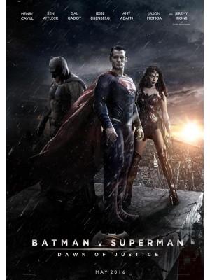 Batman Vs Superman - A Origem da Justiça - 2016