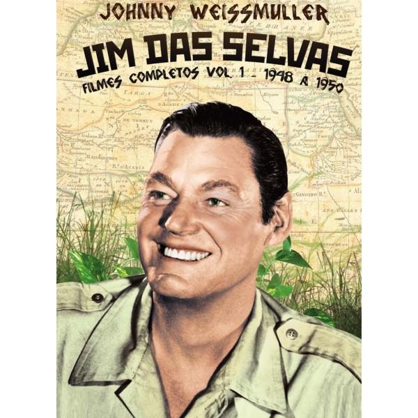 Coleção Jim Das Selvas - 1948 a 1950 - ( 4 DVD's...