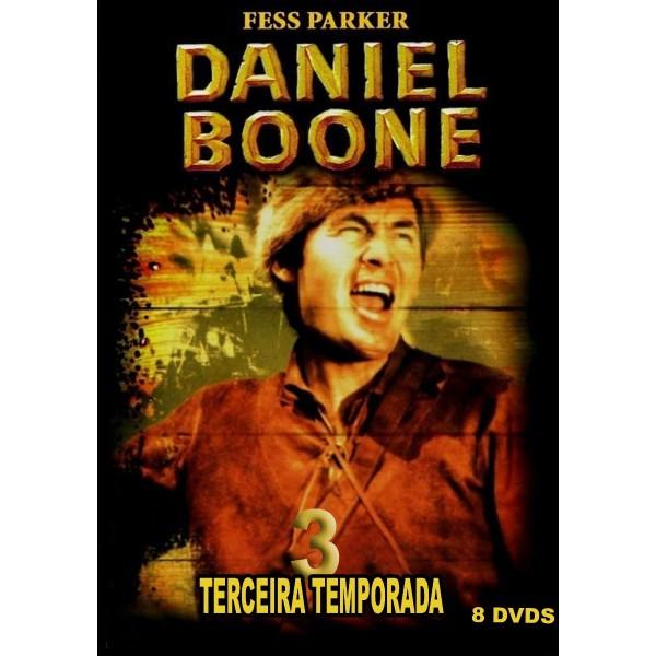 Daniel Boone - 3ª Temporada - 1966 - 08 Discos