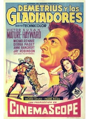 Demetrius, O Gladiador | Demetrius e os Gladiadores - 1954