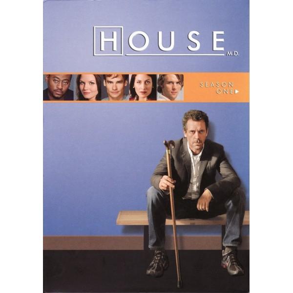 Dr. House - 1ª Temporada - 2004 - 06 Discos
