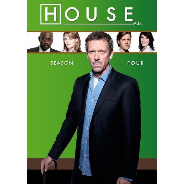 Dr. House  - 4ª Temporada - 2007 - 04 Discos