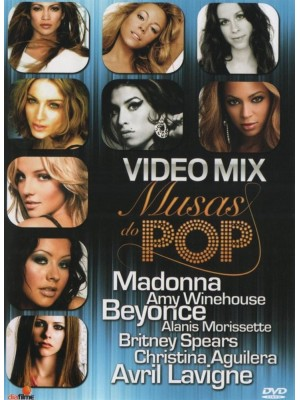 DVD Video Mix - Musas Do Pop
