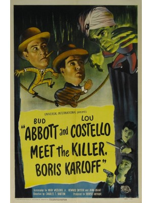 Abbott e Costello -  Frente a Frente Com Assassinos - 1949