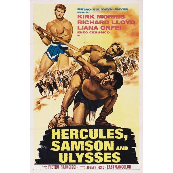 Hércules, Sansão e Ulisses - 1963