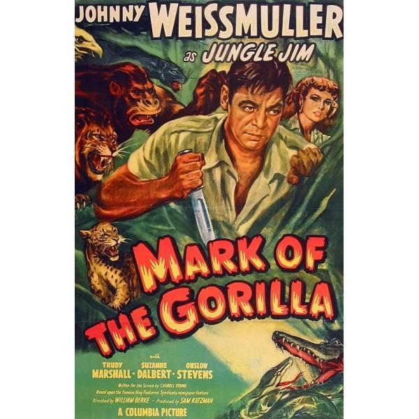Jim das Selvas - A Marca do Gorila - 1950