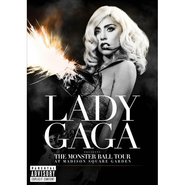 Lady Gaga: Presentes The Monster Ball Tour At Madi...
