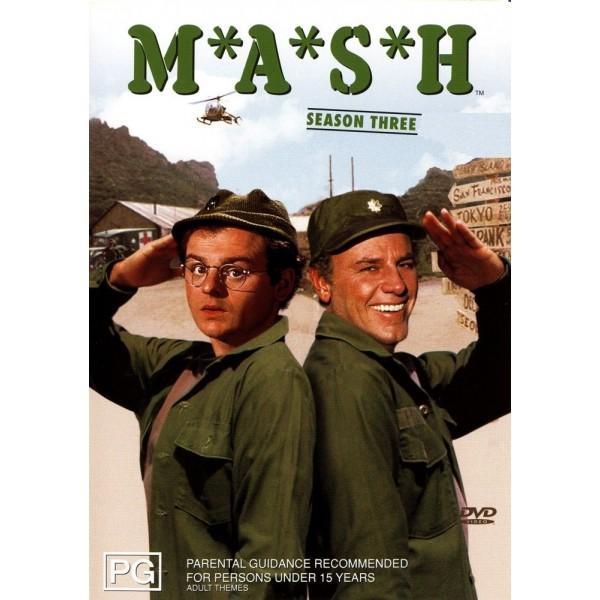M*A*S*H - 3ª Temporada - 1974 - 03 Discos