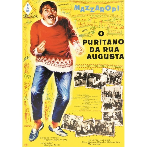 Mazzaropi o Puritano da Rua Augusta - 1965