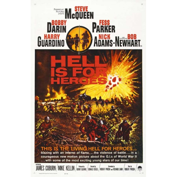 O Inferno é Para os Heróis - 1962