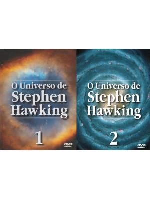 O Universo de Stephen Hawking 1 e 2 - 1996 - Duplo