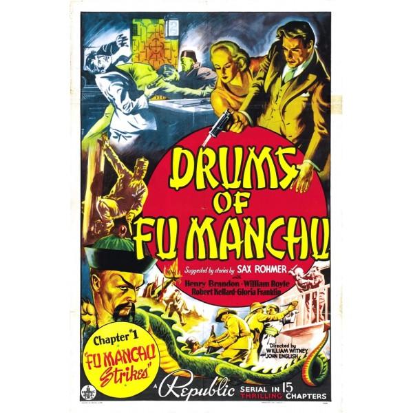 Os Tambores de Fu Manchu - 1940 - Duplo