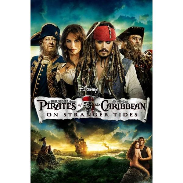 Piratas do Caribe - Navegando em Águas Misteriosa...