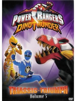 Power Ranger Dino Trovão - Triunfo Triássico - Vol 5 - 2006