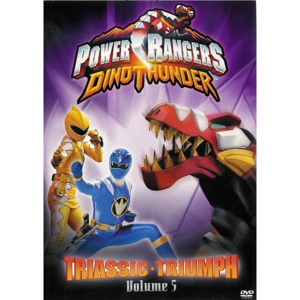 Power Ranger Dino Trovão - Triunfo Triássico - V...