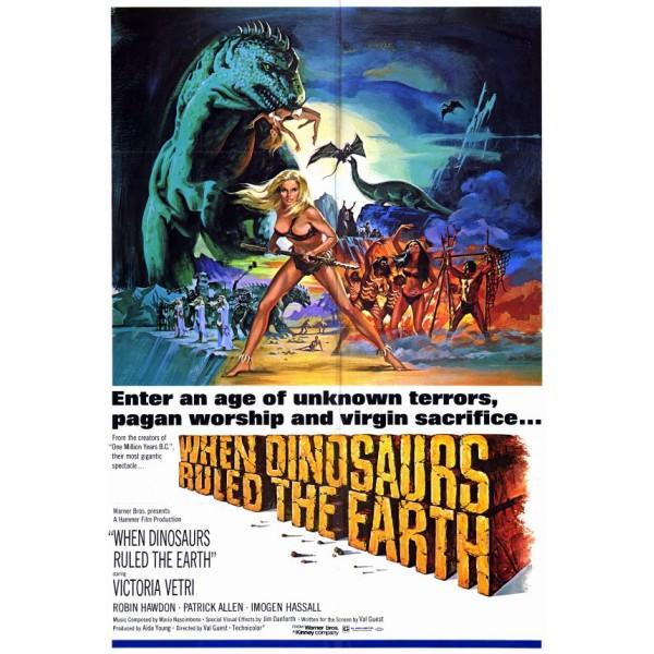 Quando os Dinossauros Dominavam a Terra - 1970