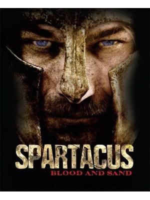 Spartacus: Sangue e Areia - 1ª Temporada - 2010 - 05 Discos