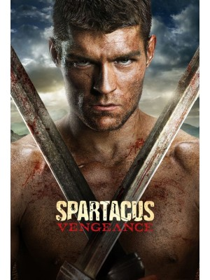 Spartacus: Vingança - 2ª Temporada - 2012 - 04 Discos