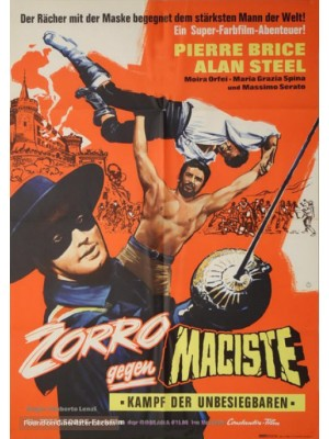 Zorro Contra Maciste | Sansão e a Rainha Escrava  - 1963