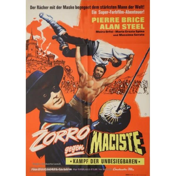 Zorro Contra Maciste | Sansão e a Rainha Escrava ...