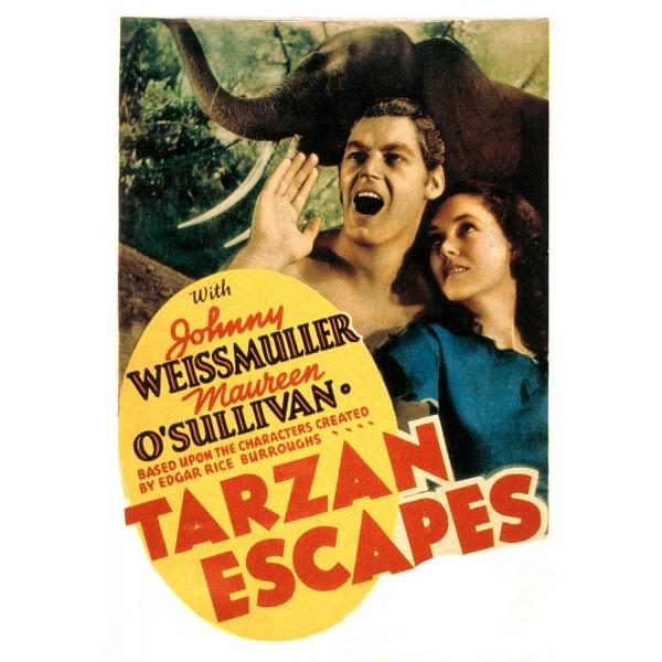A Fuga de Tarzan - 1936