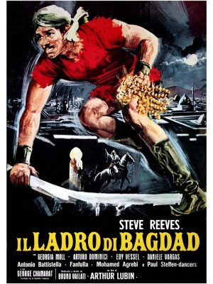 As Aventuras do Ladrão de Bagdad | A Rosa Azul - 1961