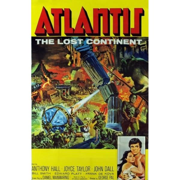Atlântida - O Continente Perdido - 1961