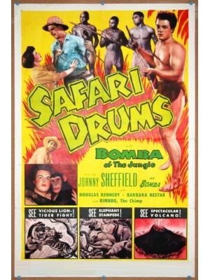 Bomba e os Tambores Selvagens - 1953