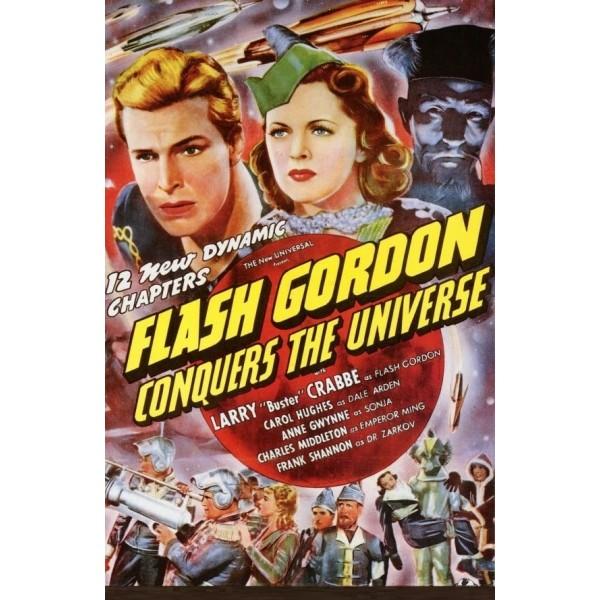 Flash Gordon Conquista o Universo - 1940 - Duplo