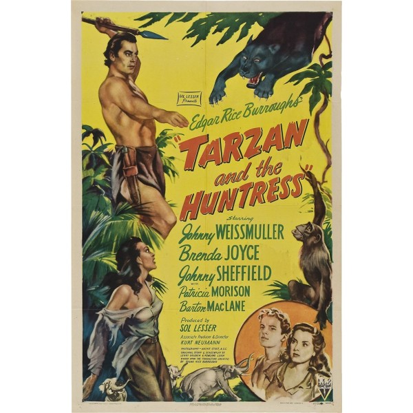 Tarzan e a Caçadora - 1947
