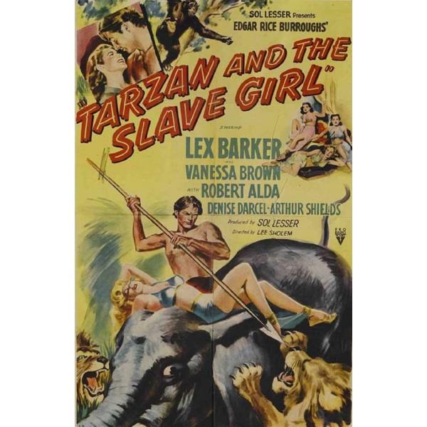 Tarzan e a Escrava - 1950