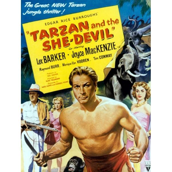 Tarzan e a Mulher Diabo - 1953