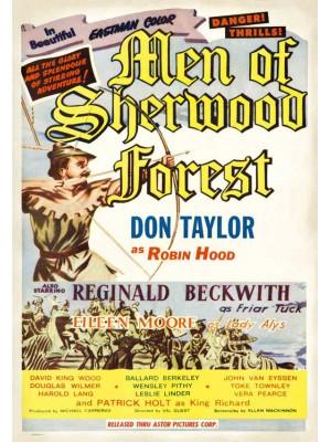 A Espada de Robin Hood | Os Homens da Floresta de Sherwood  - 1954